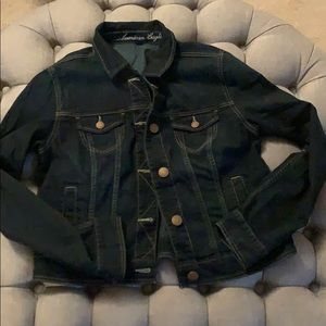AEO XL denim jean jacket like new